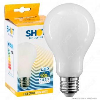 Bot Lighting Lampadina LED E27 11W Bulb A70 Milky Filamento Extra-Lungo - mod. MLD1011X2